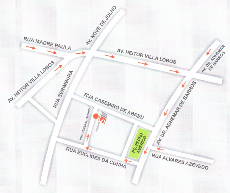 Mapa Localização Scorpius
